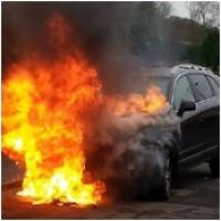Brandblusser auto