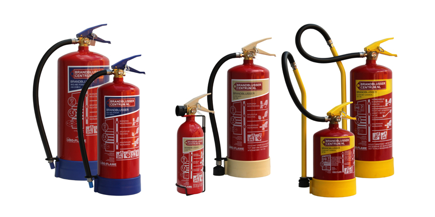 Brandblusser informatie