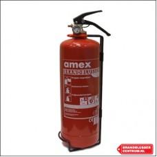 Amex 2 kg poeder brandblusser