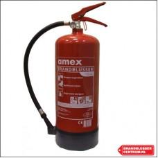 Amex 6 kg poeder brandblusser